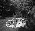"""""""Sušiuna"""" (sušilna) jama, okrogla, pri Jerkot, Velike Češnjice 1950.jpg"""