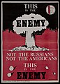 """This is the Enemy"" MCANW poster, 1980s Wellcome L0075379.jpg"