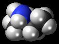 (R)-sec-Butylamine molecule spacefill.png