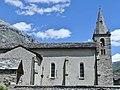 Église Notre-Dame de l'Assomption de Bonneval-sur-Arc en été (2019).JPG