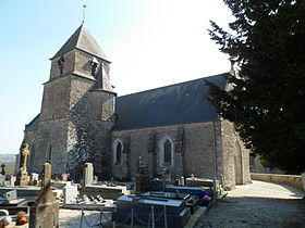 L'église Saint-Ébremond.