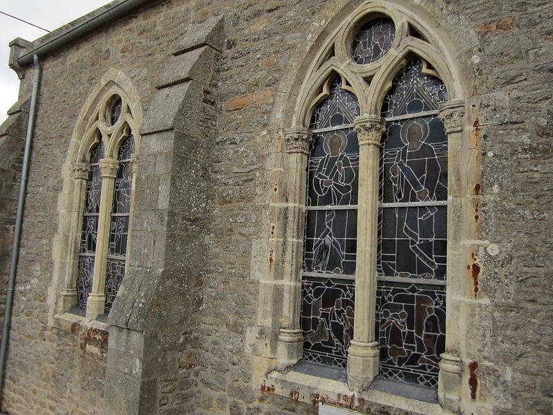 église Saint-Laurent de Tocqueville, Manche