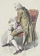 Émile Bayard: Mélac in Les deux amis (1876). (Quelle: Wikimedia)