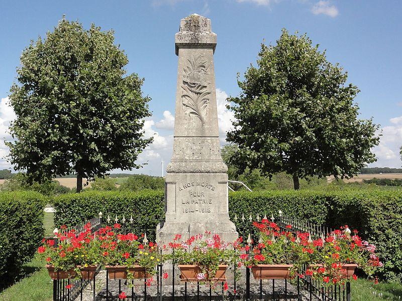 Érize-Saint-Dizier (Meuse) monument aux morts