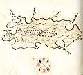 Χάρτης της νήσου Μπρατς (Κροατία) - Millo Antonio - 1582-1591.jpg