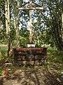 Александровский парк Крест на месте часовни храма Серафима Саровского (могилы Г.Е.Распутина).jpg