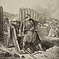 Анастас Јовановић, Јунаштво Рајића, 1848.jpg