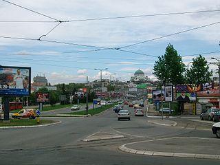 Autokomanda Urban neighbourhood in Voždovac, Belgrade, Serbia