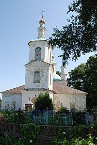 Баскаково (Гагар.). Спасская церковь (1760-70-е). 26.07.11..JPG