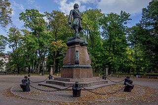 Denkmal Peters des Großen