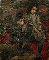 Моисей Слепян Этюд детей беженцев 1915-16 гг..jpg