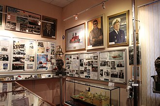 Murmansk Shipping Company - Murmansk Shipping Company Museum interior