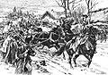 Наполеон покидает армию в Сморгони (гравюра Н.С. Самокиша).jpg