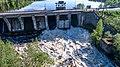 Плотина перекрывающая старое русло реки Суна в д. Гирвас.jpg