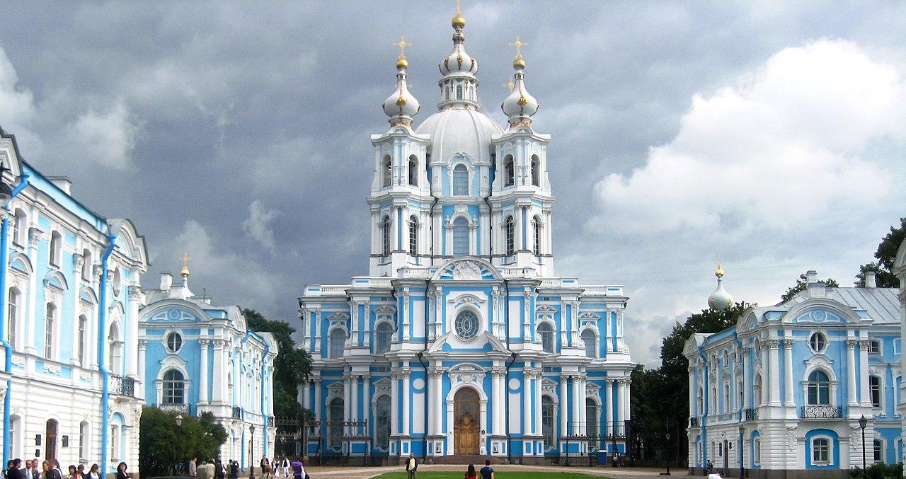 фото смольный собор