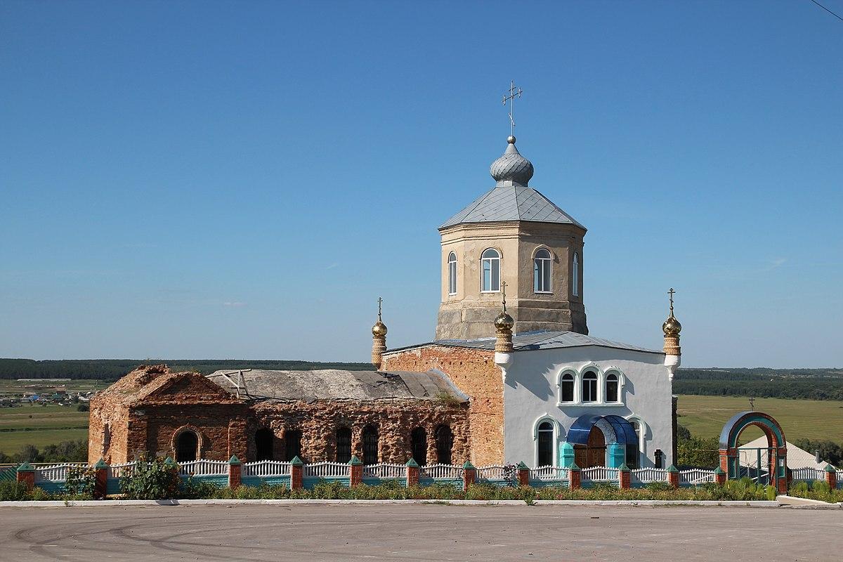 Церковь Николая Чудотворца в Селявном, автор - Insider