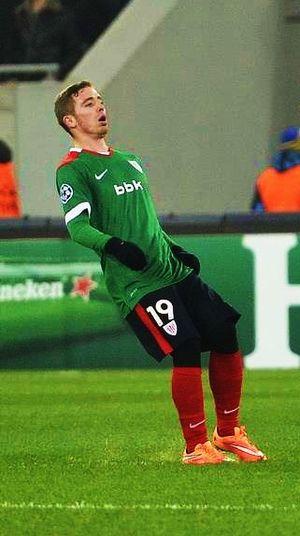 Iker Muniain - Muniain in a Europa League game against Shakhtar Donetsk in 2014