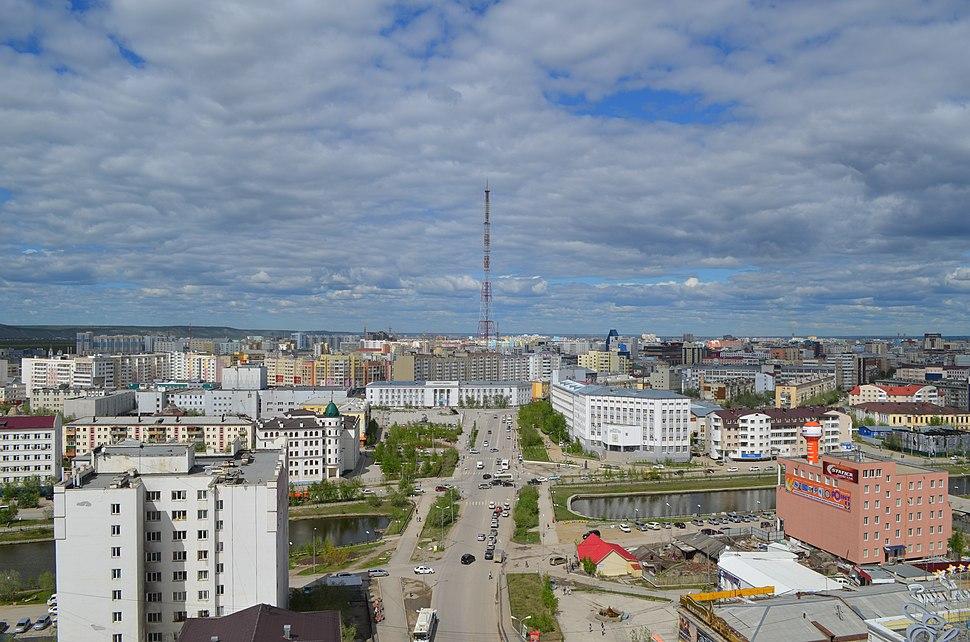 Якутск. Вид на центральную часть города (2)