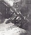 צילום אוויר של גשר רכבת בירדן לאחר שחובל על ידי מטען מזלף 250.jpg