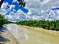 জোয়ারের সময় প্লাবিত সুন্দরবনের শাখা নদী!.jpg