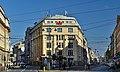 """""""Pałac Prasy"""" office building, 1920 design. by Tadeusz Stryjeński and Franciszek Mączyński, 1 Wielopole street street, Krakow, Poland.jpg"""