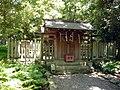 和歌山市秋月 天道根神社(日前宮摂社) Ameno-michine-jinja 2011.7.15 - panoramio.jpg
