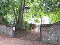 -2018-09-17 Front gate and Lamp, Parish church of All Saints Church, Church Street, Gimingham (1).JPG