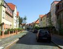 Wohngebiet Arndtstraße zwischen Webschulallee und Körnerstraße einschließlich der Straßenführung und -anlage sowie des Schmuckplatzes und dessen Gestaltung