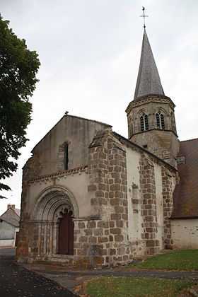 Église Saint-Bonnet de Saint-Bonnet-de-Four