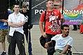 02018 055 27. Wallfahrt der Zuhörer von Radio Maryja, Rechtsradikaler Gegendemonstranten bei der CzestochowaPride-Parade.jpg