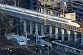 021 新幹線 N700 Series Shinkansen high speed train arriving at Kyoto Station, Japan.jpg