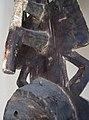 027 a2 reverse detail BWA - (BAYIRI) PLANK MASK, Burkina Faso FRONT (168.CM) (9365562552).jpg