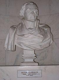 03 Oliver Ellsworth bust, US Supreme Court.jpg