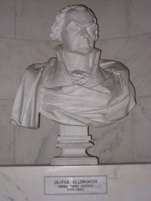 03 Oliver Ellsworth bust, US Supreme Court.jpg