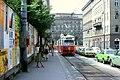 056R26270679 Schottenring, Haltestelle Börse,Wipplingerstrasse, Strassenbahn Linie D Typ E1 4788.jpg