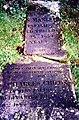 06 - Mary Ann Mansel and her son, Charles Childs, in the same grave together in All Saint's Churchyard, Loose.jpg