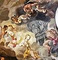 07 Il delicato affresco nella stanza attigua raffigurante il sacrificio di ifigenia, deve aver suscitato sonni beati.jpg