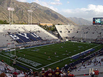 LaVell Edwards Stadium - Looking southeast in 2004