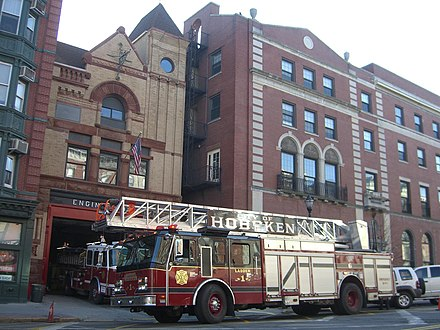 Fire Station #1 on Washington Street 1.20.10EngineNo2HobokenByLuigiNovi.jpg
