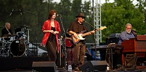 10,000 Maniacs - 10,000 Maniacs at Pittsford Park in Lake Forest in 2015