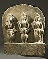 10th century Hindu Gods Ganesha, Shiva, and Karttikeya on Their Mounts.jpg
