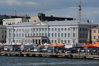 City Council of Helsinki - City Hall, the seat of the Helsinki City Council.