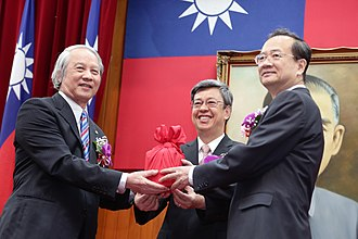 Hsu Tzong-li - The appointment of Hsu to be the President of Judicial Yuan from outgoing President Rai Hau-min.