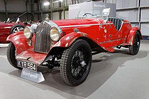 Wire wheel - Wire wheels on a 1929 Alfa Romeo 6C 1750 Spyder Supersport
