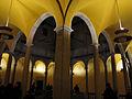 113 Palau del Lloctinent, galeria superior del pati, durant el festival Llum BCN.JPG