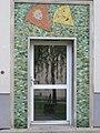 1180 Czartoryskigasse 62-68 Stg 14 - Tormosaik Papierdrachen und Lampions von Florian Josephu IMG 5335.jpg