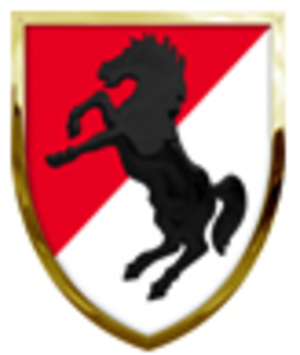 11th Armored Cavalry Regiment - The 11th Armored Cavalry Regiment Shoulder Sleeve Insignia