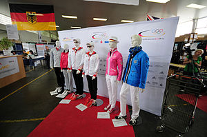 2012 Summer Olympics marketing - Uniforms of the German Olympic Athletes 2012