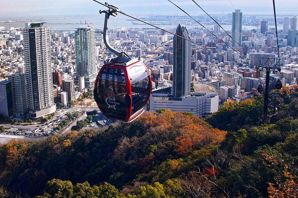 121208 Kobe-Nunobiki ropeway Kobe Hyogo pref Japan01s3