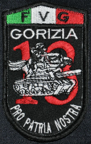 "2nd Carabinieri Mobile Brigade - Emblem of the 13th Carabinieri Regiment ""Friuli-Venezia Giulia"""